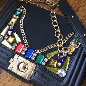 bijeweled rhinestone Handbag